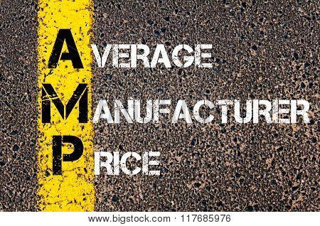 Business Acronym Amp Average Manufacturer Price