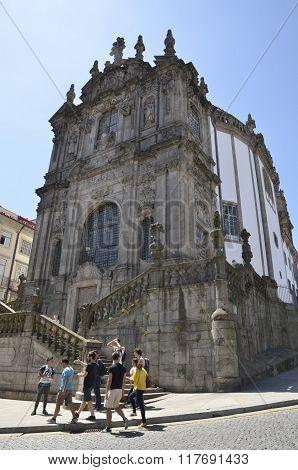 Exterior Of Clerigos Church