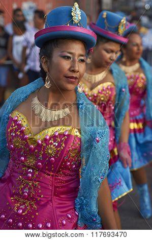 Morenada Dancers