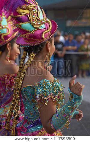 Morenada Dancer