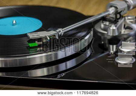 Retro Record Player