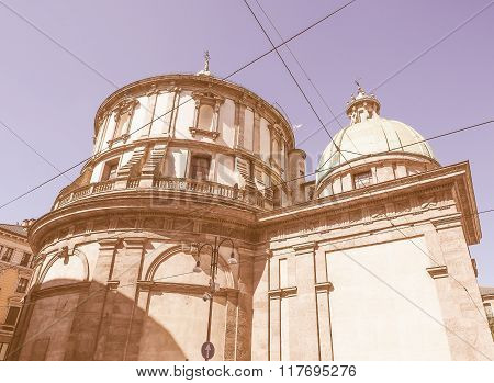Temple Of San Sebastiano Vintage