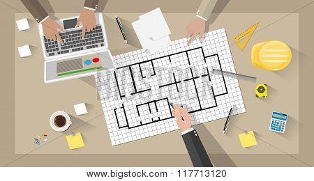 Construction engineer desktop