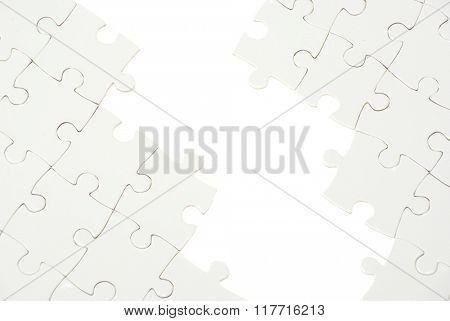 puzzle with missing piece