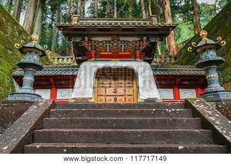 Taiyuinbyo - the Mausoleum of Shogun Tokugawa Iemitsu in Nikko, Japan