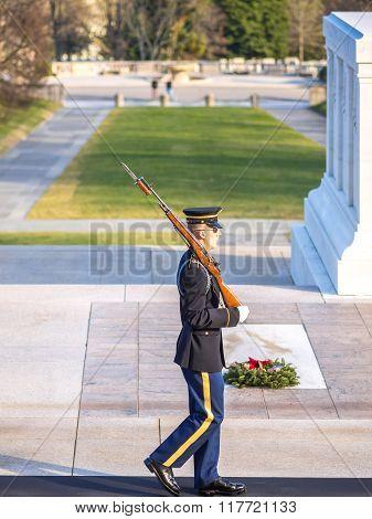 Arlington Change Of Guard
