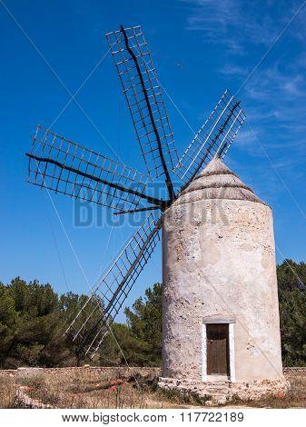 La Mola Old Windmill