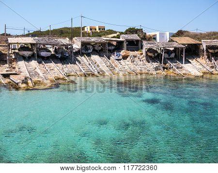 Es Calo Boathouses