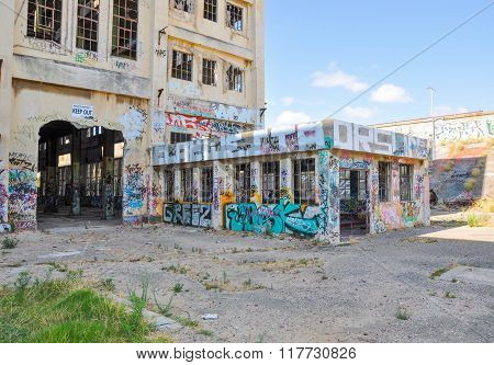 Old Fremantle Power House Ruins