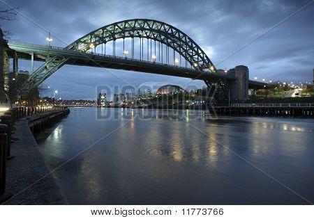 Tyne Bridge Morning