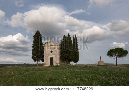 The Chapel Of Our Lady Of Vitaleta
