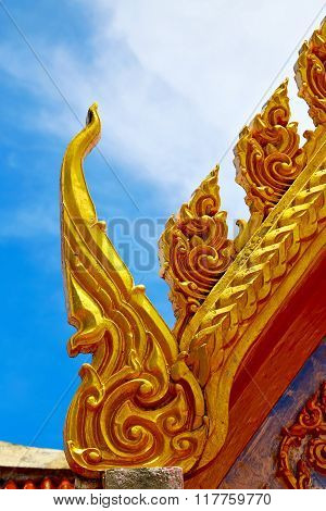 Samui Bangkok In Thailand Incision Of The Buddha Gold  Temple