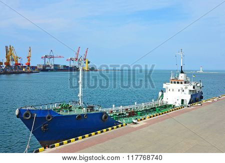 Bunker Ship (fuel Replenishment Tanker)