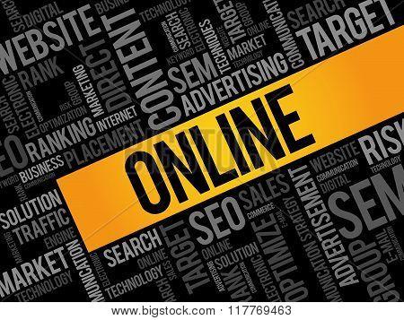 Online Word Cloud