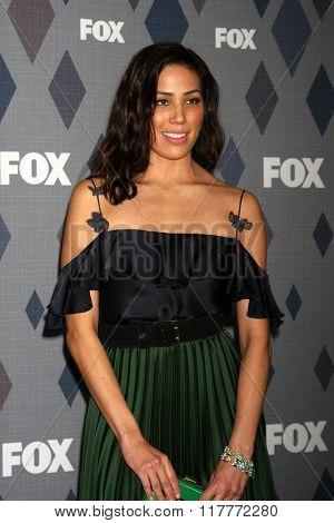 LOS ANGELES - JAN 15:  Michaela Conlin at the FOX Winter TCA 2016 All-Star Party at the Langham Huntington Hotel on January 15, 2016 in Pasadena, CA