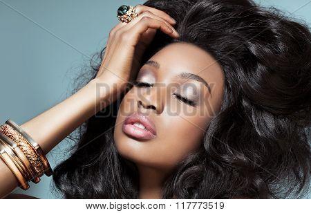 Beautiful Dark Woman