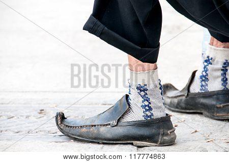 Old Shoes Of Old Men