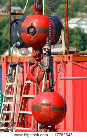 Barge Begins Repair