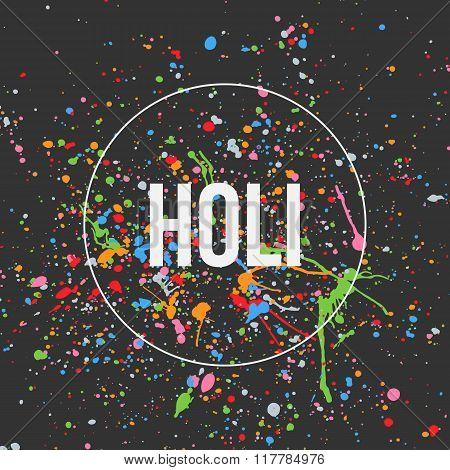 Holi Banner Design for Indian Festival