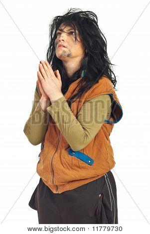 Beggar Praying