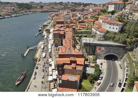Promenade Of The Douro River