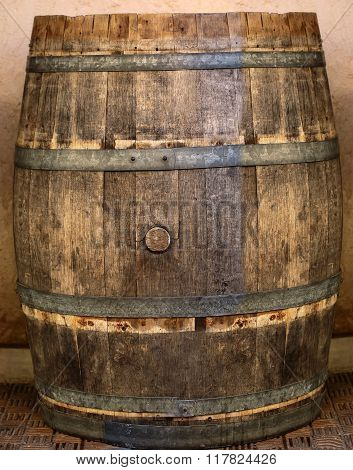 Traditional Wood Barrel
