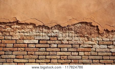 Terracotta Brick And Stucco Facade