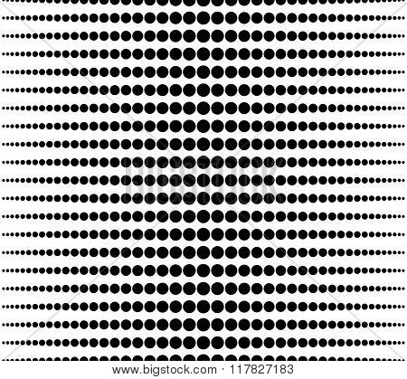 Halftone, Gradation Abstract Monochrome Repeatable Background, Pattern