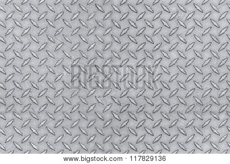 metal seamless pattern tile, wrap around diamond steel texture emboss