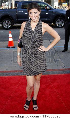 Jamie-Lynn Sigler at the Los Angeles Premiere of