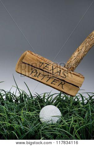 Texas Golf Putter.