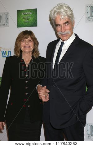 LOS ANGELES - FEB 10:  Katharine Ross, Sam Elliott at the 17th Annual Women's Image Awards at the Royce Hall on February 10, 2016 in Westwood, CA