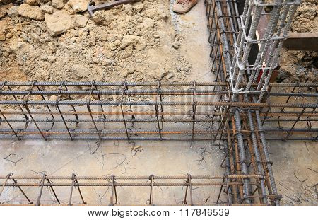 Foundation Prepare For Home Building