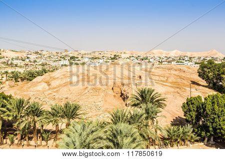 Historic And Modern City Of Jericho, Palestine