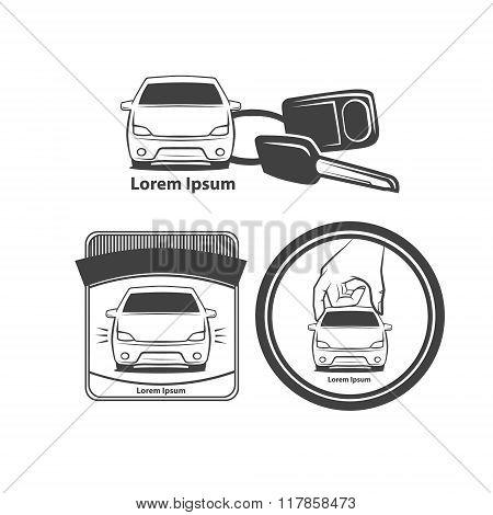 Rent Car Logo