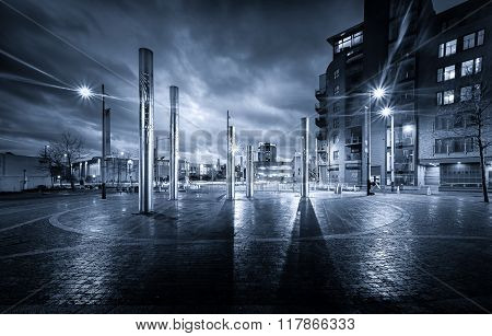 Swansea City Blue Mood
