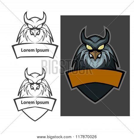 Owl Logo Color