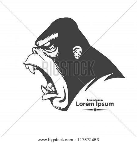 gorilla logo profile