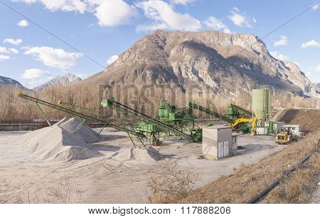 Gravel Extraction Plant.