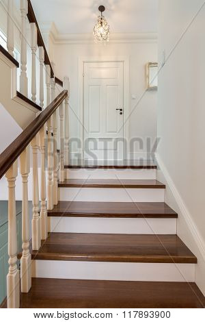 Elegant And Wooden Stairs