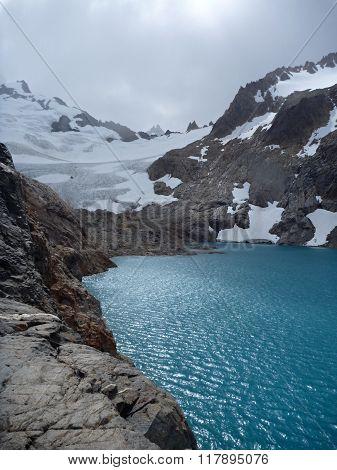 Laguna Sucia In Park Los Glaciares In Patagonia
