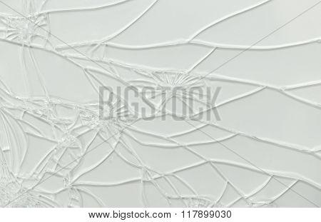 Broken Glass Of Smartphone