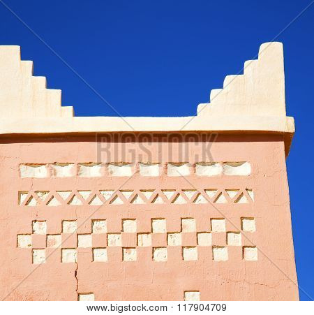Todra  The History In Maroc Africa  Minaret Religion And  Blue    Sky
