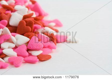 Heart Sprinkles Pile