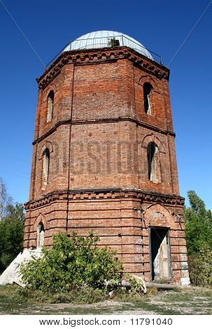 Deserted observatory