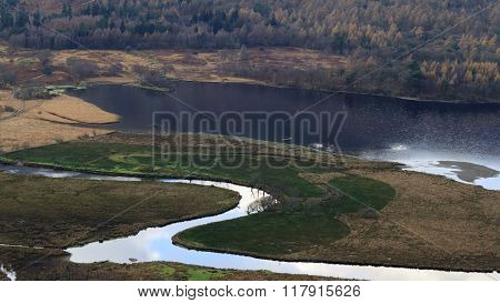 A view of Derwent Water,  Lake District