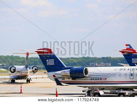 US Airways Aircrafts