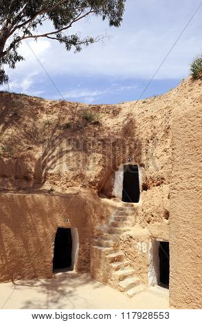Tunisia Berber House