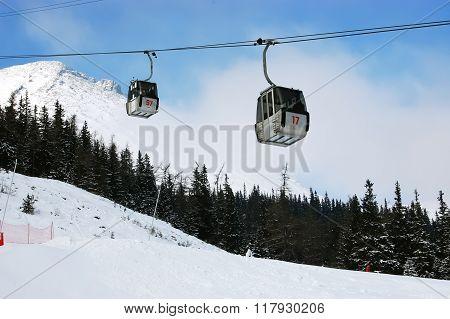 Lift In High Tatras.