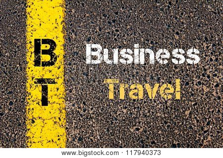 Business Acronym Bt Business Travel